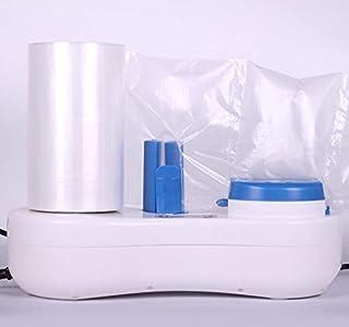 EONE Máquina de colchón de aire 5M / Min Velocidad Máquina aire Cojín máquina Película de cojín de aire inflable Envoltura de burbujas de aire Máquina de embalaje inflable Máquina (1 Uno)