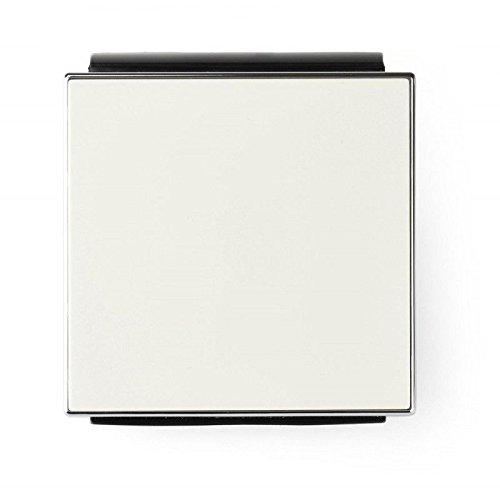 Niessen sky - Tecla interruptor conmutador cristal blanco