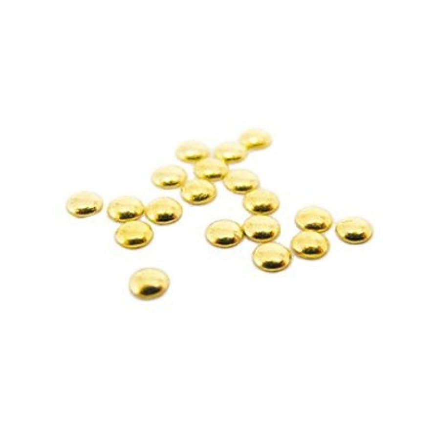 褐色憂鬱なポークピアドラ スタッズ 2.0mm 500P ゴールド