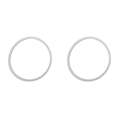 BEKA 1761009 Dichtungsring für Schnellkochtöpfe, Ø 22 cm, grau (2 Stück)
