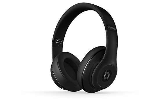 Beats Studio Wireless On-Ear Headphone - Matte Black (Renewed)