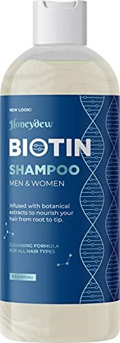 Volumizing Biotin Shampoo for Thin Hair - Sulfate Free Shampoo for Fine Hair Care with Biotin Hair...