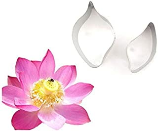 Baking Tools - Water Lily Flower Cake Mould Stainless Steel Cookie Cutter Biscuit Fondant Modeling Shape Decorating - Cutter Beginners Storage Bread Case Cakes Organization Bench Steel Russ