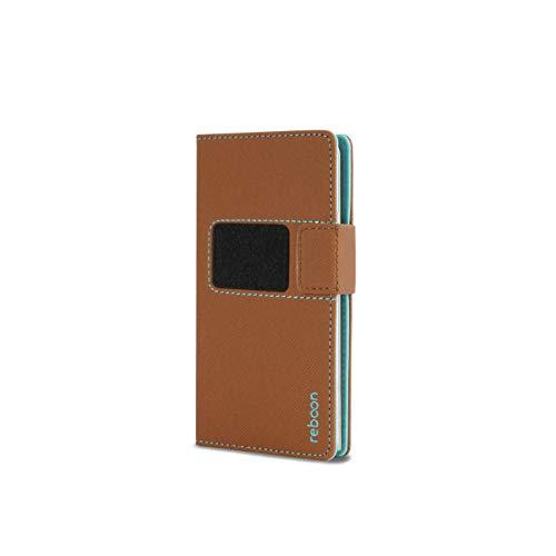 Hülle für Ulefone Future Tasche Cover Hülle Bumper | Braun Leder | Testsieger