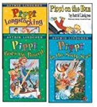 Pippi Longstocking, Pippi in the South Seas, Pippi Goes on Board (Set of 3)