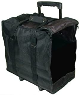 Beadaholique Jewelry Display Black Carrying Case w/Wheels & Handle