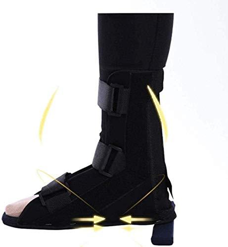 TINWG Knöchelstütze Einstellbare Fallfuß Orthese for Knöchelgelenk Verstauchung Fuß Verstauchungen Stabilisator Stiefel Schuhe aufgefüllte Kalb Knöchel Fuß-Orthese, Fallfuß Brace 61