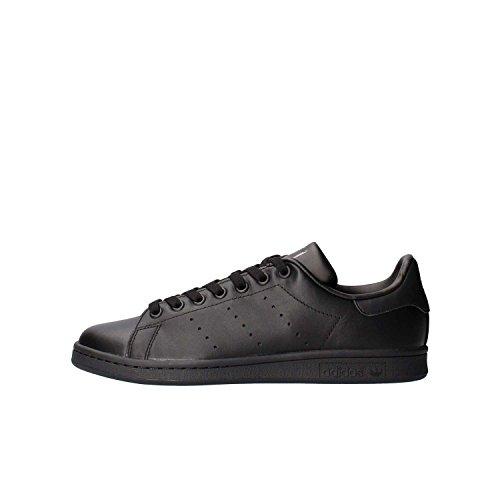 adidas Originals Stan Smith, Zapatillas de Deporte Unisex Adulto, Negro (Black/Black/Black), 42 2/3 EU