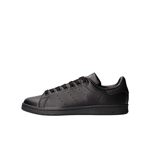 adidas Originals, Stan Smith, Sneakers, Unisex - Adulto, Nero (Core Black), 45 1/3 EU