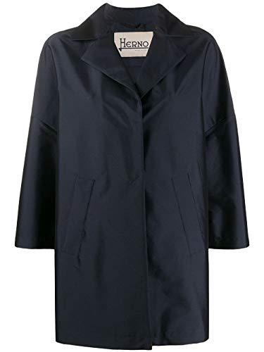 Herno Luxury Fashion Damen GC0266D13470S9208 Blau Mantel  