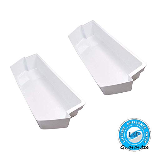 Lifetime Appliance (2 SET) 2187172 Door Shelf Bin Compatible with Whirlpool Refrigerator