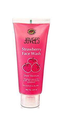 Jovees Fraise Face Wash 120ml x 4 n