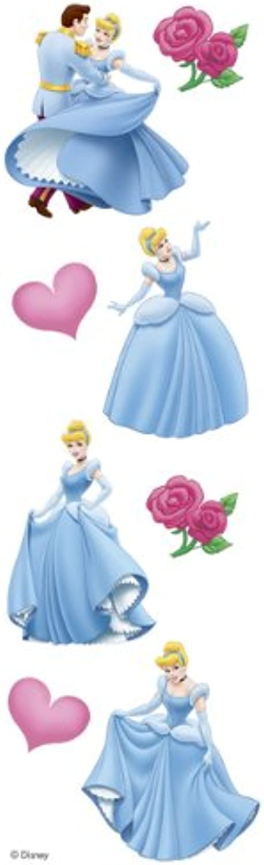 Cinderella Slim Stickers by Sandylion B0064PO2H2 | New Product 2019