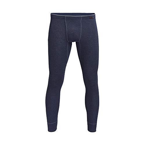 con-ta Thermo Lange Hose mit Eingriff, Lange Unterhose für Herren, wärmende Unterwäsche mit natürlicher Baumwolle, Herrenbekleidung, Größe: 5-10