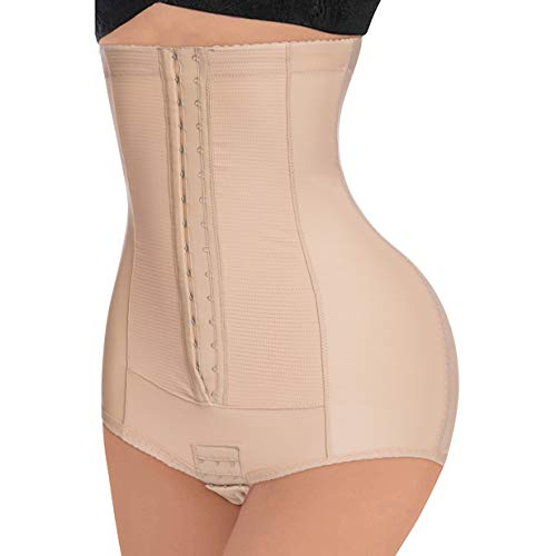 Bafully Women Seamless Butt Lifter Shapewear Hi-Waist Tummy Control Panties Slimmer Body Shaper