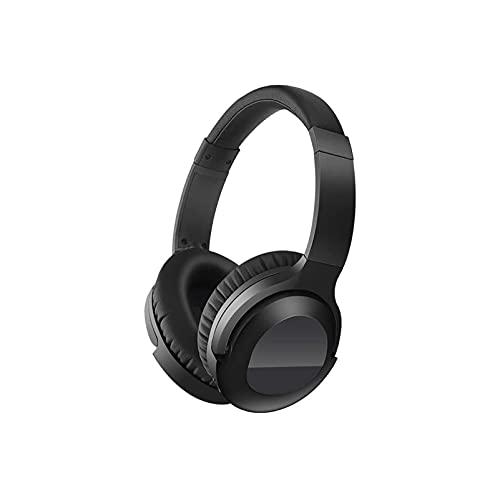 WGLL Auriculares Bluetooth sobre Oreja, Auriculares inalámbricos con Modos, Auriculares estéreo con micrófono y proteína Suave para Celular/TV/PC/Oficina en casa