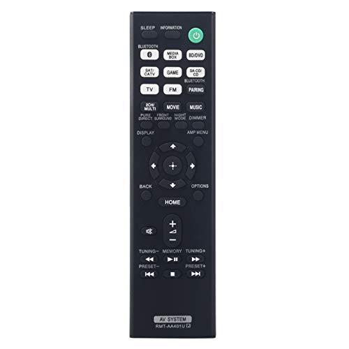 RMT-AA401U Ersatz Fernbedienung - VINABTY RMT AA401U Fernbedienung für Sony AV Receiver STR-DH590 STR-DH790 SAWX9000F SAXF9000F HTX9000F RMTAA401U Remote Controller