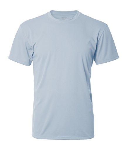 Denali Performance Men's UPF 50+ ProtectUV Short Sleeve T-Shirt – 2XL Blue