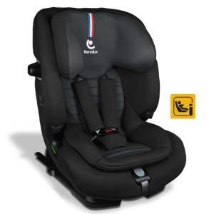 Renolux Softness Olymp Carbon, Kindersitz Gruppe 1/2/3 (9-36kg), von 9 Monate bis 12 Jahre, i-Size