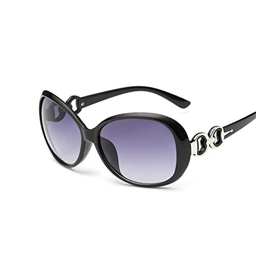 YIFEID Gafas De Sol Fashion Damas Oval Gafas De Sol Retro Clasísticas Gafas De Sol Mujer Gafas De Sol Moda
