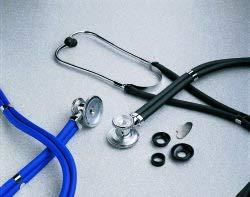 McKesson LUMEON Sprague Stethoscope, Teal Blue Tube, 22 inch 01-641TLGM, 1 Ct