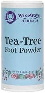Wiseways Herbals, Foot Powder Tea Tree, 3 Ounce