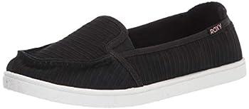 Roxy Women s Minnow Slip On Sneaker New Black 8.5