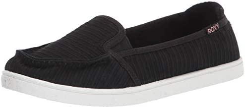 Roxy Women's Minnow Slip On Sneaker, New Black, 8