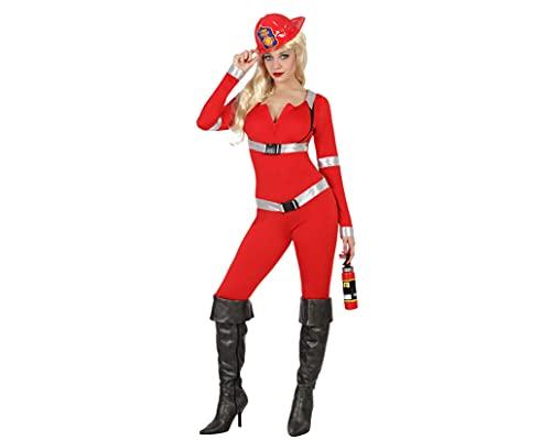 Atosa 22928 - Disfraz de bombero sexy, talla 2