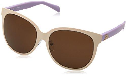 TOUS STO326G-08LB Gafas de sol, Beige/Violet, 58 para Mujer