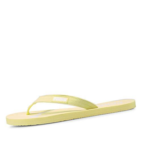 PUMA Damen Cozy Flip WNS Flipflop, Pink Yellow Pear White, 40.5 EU