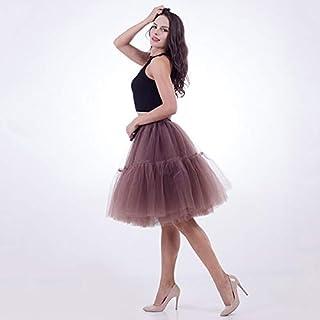 995cbdd0925b5d Amazon.fr : Jupe Tulle Femme - Marron