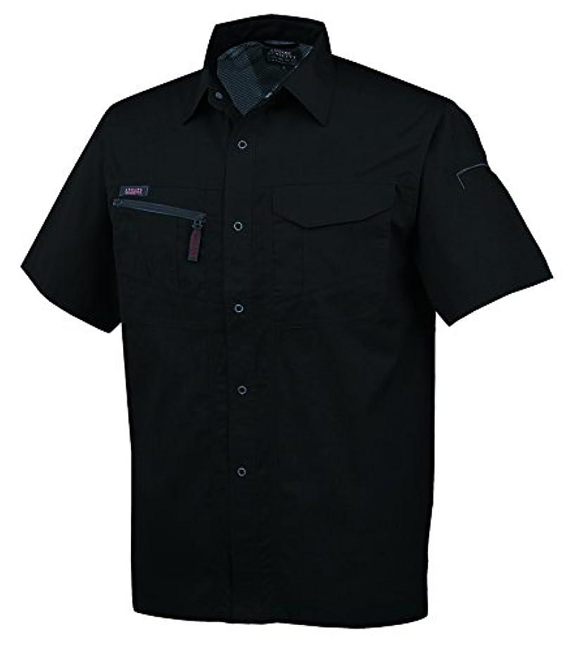 未払いバイオレット評論家CO-COS コーコス 春夏用半袖シャツ A767 13ブラックサファイア LL