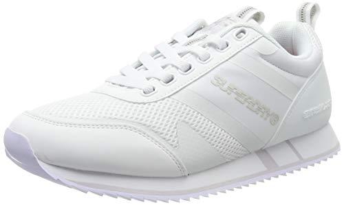 Superdry Herren FERO Runner Sneaker, Weiß (White 04c), 40 EU