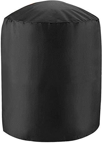 MORIASTER Grill abdeckhaube Abdeckung Schutzhülle Kugelgrill für BBQ Kugelgrill Gasgrill Grill Barbecue Cover (Rund 73 * 71H cm)