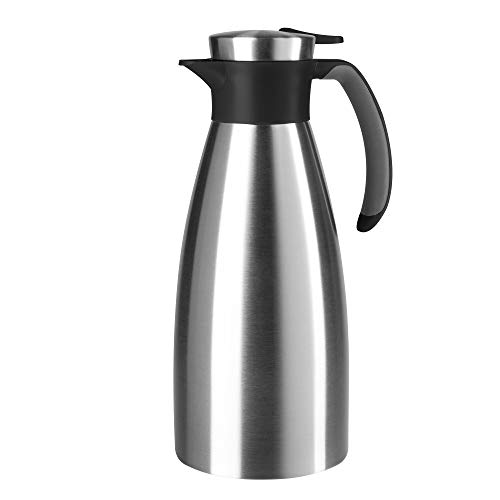 Tefal–Soft Grip Isolierkanne–1.5L, Kunststoff, schwarz, 11,8 x 11,8 x 28,7 cm