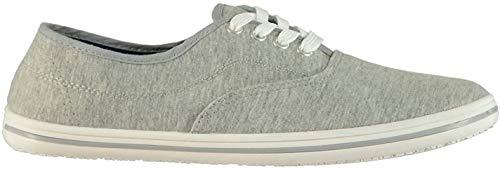 Slazenger Herren Canvas Sneaker Grau Meliert 40 2/3 EU