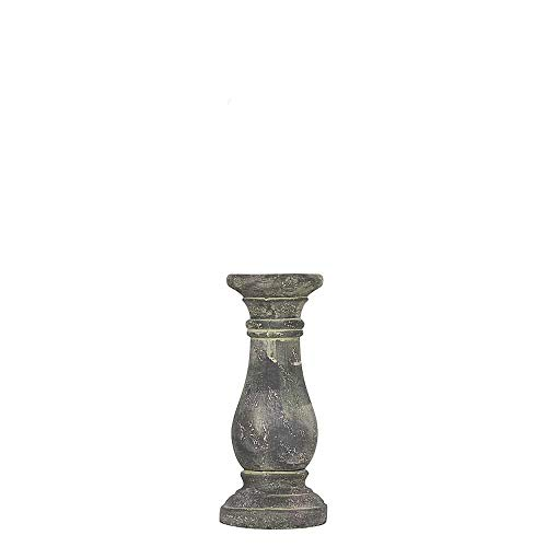 Spiru Kerzenständer Verwitterter Zement Grau (18 cm)