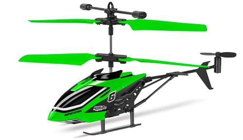 Ninco Whip2. Helicóptero Teledirigido de iniciación. con luz. 26 x 11 x 5 cm. +8 años. NH90137