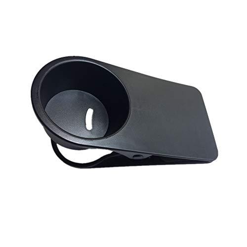 Addfun®Trinken Tasse Halter Clip,Bunt Beweglich Schreibtisch Seite Lagerung Halter für Zuhause Büro Schreibtisch Benutzen(Schwarz)