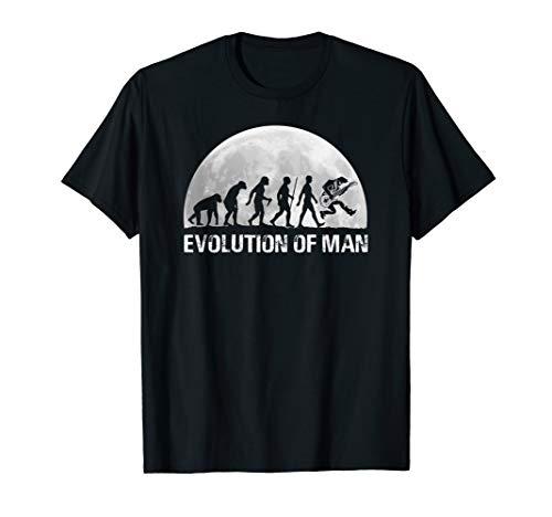 Evolution Gitarre Gitarrist Geschenk Entwicklung Gitarren T-Shirt