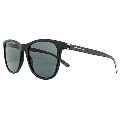 Bulgari 0BV7031 531387 55 Gafas de sol, Negro (Matte Black/Grey), Hombre