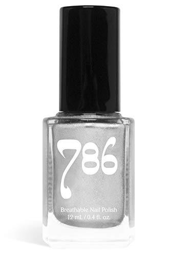 786 Cosmetics Breathable Nail Polish - Vegan Nail Polish, Cruelty-Free, Healthy, Halal Nail Polish, Fast-Drying Nail Polish (Brunei)