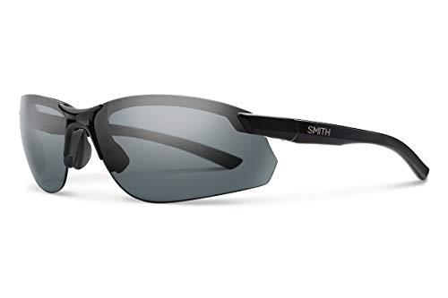 Parallel Max 2 Carbonic Polarized Sunglasses, Black / Carbonic Polarized Gray / Ignitor, Smith Optics Parallel Max 2 Carbonic Polarized Sunglasses