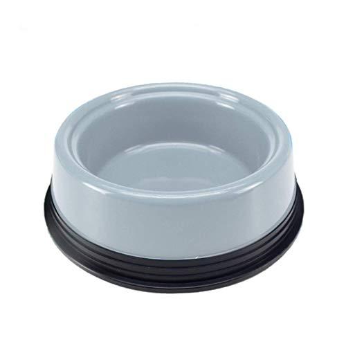 ZLPER Cuenco for Perros Criado for Perros Pet Food Bowls Puppy Bowls Sin derrame Colorido Anti Hormigas Alimentador de Agua Comer un tazón for Animales pequeños (Color : B)