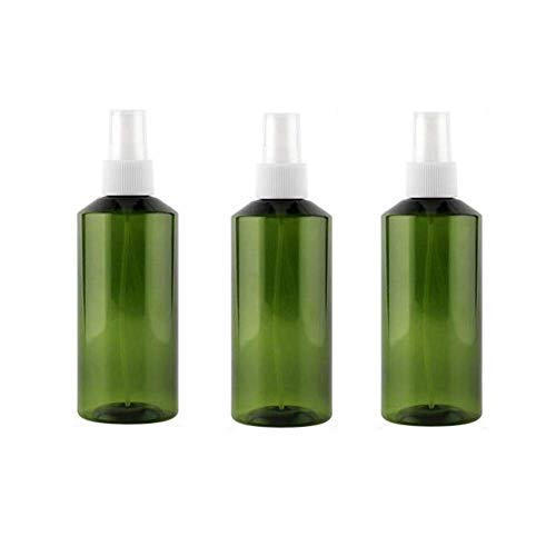 Zhenwo 10 STÜCKE 150 ML 5 Unze Leere Nachfüllbare Dunkelgrüne Kunststoff Sprayer Flasche Mit Klarsichtdeckeltragbare Toner Makeup Desinfektionswasser Gießkanne,200ml