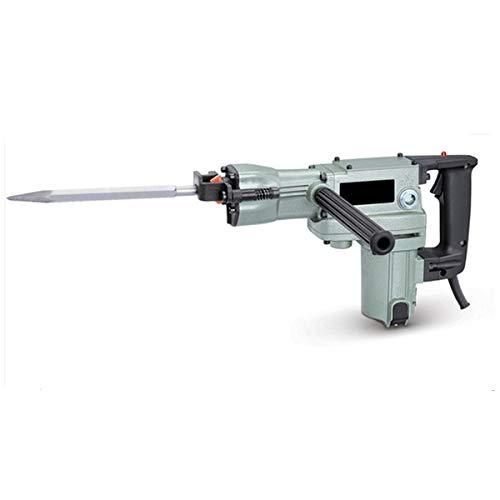 GrecoShop Trapano Martello demolitore in Valigetta con Punte in Dotazione 38mm 1050W