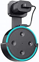 Sintron Wall Mount for Echo Dot - Alexa Smart Home Outlet Wall Mount Stand for Amazon Echo Dot 2nd Generation Speaker Holder with Charging Cord Cable,Space Saving Accessories Without Messy Wires
