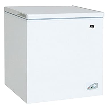 Igloo FRF472 Chest Freezer, 7.1 Cubic Feet, White
