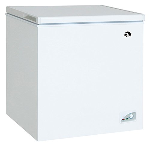 RCA FRF472 Chest Freezer, 7.1 Cubic Feet, White